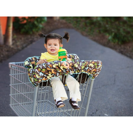 Infantino Compact 2-In-1 Baby Shopping Cart Cover