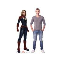 Captain Marvel Cardboard Stand Up