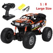 Best Rc Rock Crawlers - [Large Size 1:8] 4WD RC Car Monster Truck Review