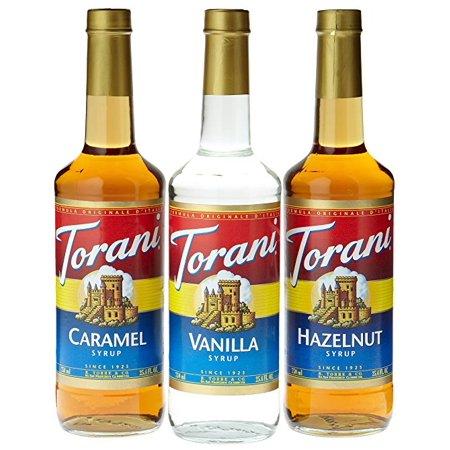 Torani 3 pack Vanilla Caramel Hazelnut