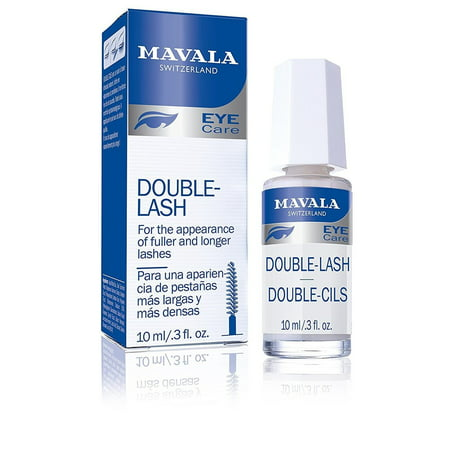 Mavala Double Lash Nutritive Treatment for Longer Denser Lashes, mavala double lash 0.3 Ounce