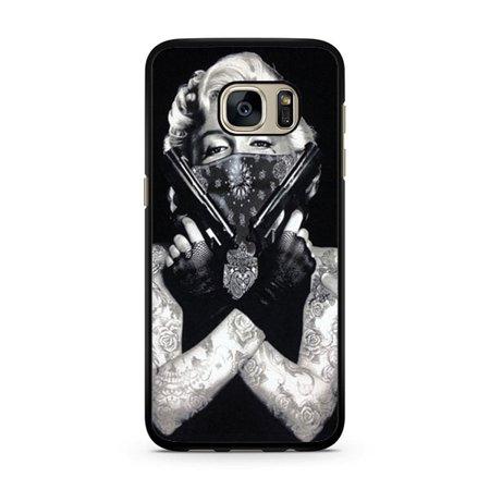 new arrivals 8f8e6 95237 Marilyn Monroe Galaxy S7 Case