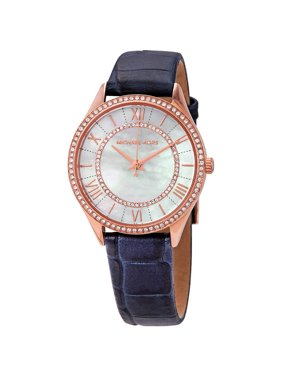 0d383cdc1d08 Product Image Michael Kors Lauryn Crystal Mother of Pearl Dial Ladies Watch  MK2757