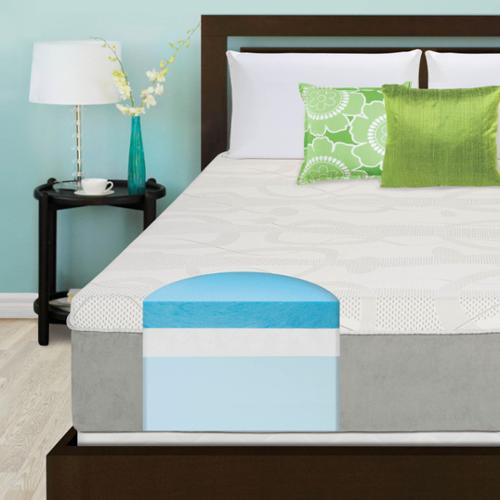 Slumber Solutions Choose Your Comfort 14-inch Queen-size Gel Memory Foam Mattress Firm