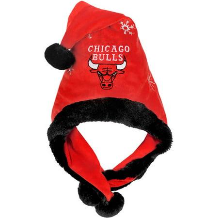 Nba Thematic Headwear Santa Hat  Chicago Bulls