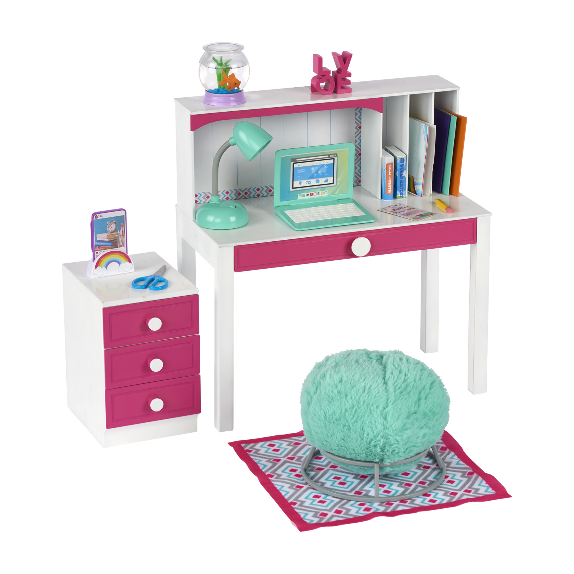 """My Life As Flower Garden Play Set For 18/"""" Doll"""