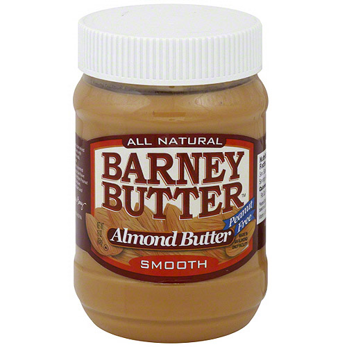 Barney Butter Smooth Almond Butter, 16 oz (Pack of 6)