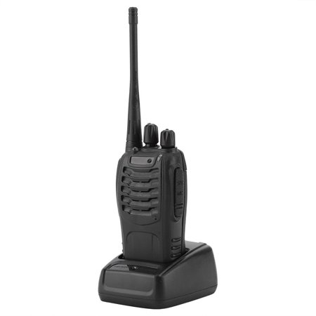 Dilwe BF-888S Walkie Talkie with Rechargeable Battery Long Range 16 Channels Two Way Radio US Plug, Walkie Talkie with Rechargeable Battery,Walkie Talkie