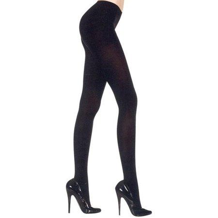 6abb93012c404 Music Legs - Sky Hosiery Inc ML747Q-BLK Womens Plus Size Opaque Tights Size  Black - Walmart.com