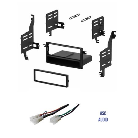 Scion Tc Dash Designs (ASC Single Din Car Stereo Install Dash Kit and Wire Harness for 2005-2010 Scion tC, 2004-2006 Scion xA, 2004-2014 Scion xB, 2008-2014 Scion xD, 2007-2010.., By ASC)