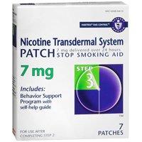Stop smoking walmart habitrol nicotine transdermal system patch 7 mg step 3 7 ct fandeluxe Choice Image