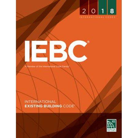 2018 International Existing Building Code