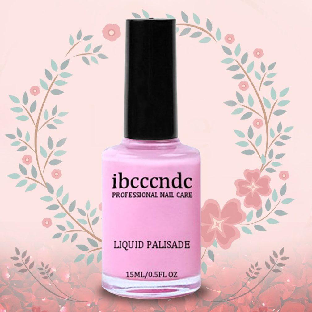 Ibcccndc 15ML Nail Art Tape Latex Easy Clean Nail Care Liquid ...