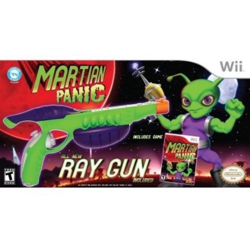 Nintendo Wii Martian Panic W/ Ray  Bundle