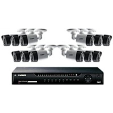 Refurbished Lorex 16 Channel Series Security DVR system with 1080p HD Cameras - Digital Video Recorder, Camera - H.264 Formats - 2 TB Hard Drive - 480 Fps - 1080 - Composite Video In - 1 Audio In -