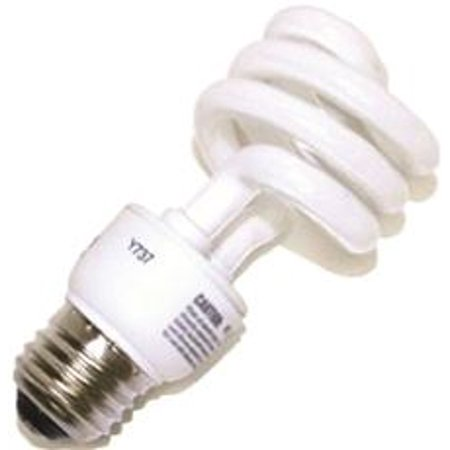 SYLVANIA DULUX EL SPIRAL COMPACT FLUORESCENT LAMP, SUPER MINI, 13 WATT, 5000K, MEDIUM BASE, 120 - Super Mini Spiral