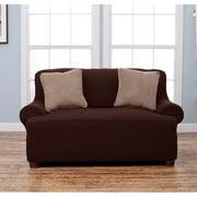 Home Fashion Designs Lucia T-Cushion Loveseat Slipcover