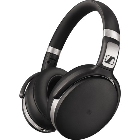 Sennheiser Wireless Headphones Bluetooth - Stereo - Mini-phone - Wired/Wireless - Bluetooth - 18 Ohm - 18 Hz - 22 kHz - Over-the-head - Binaural - Circumaural - 4.60 ft Cable - Noise