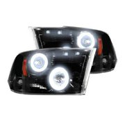 Recon Accessories 264270BKCC Headlight Assembly