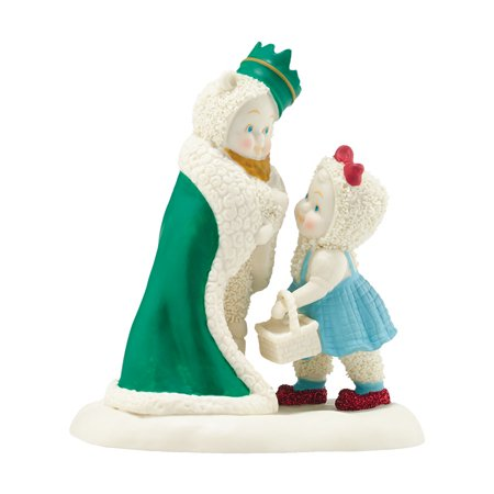 Snowbabies Wizard of Oz King of the Forest Dorothy and Lion Porcelain Figurine