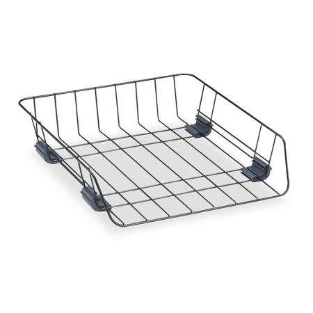 Fellowes Self Stacking Wire Desk - Office Trays