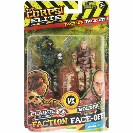- The Corps! Elite® Faction Face-Off! Action Figures 6 pc Carded Pack