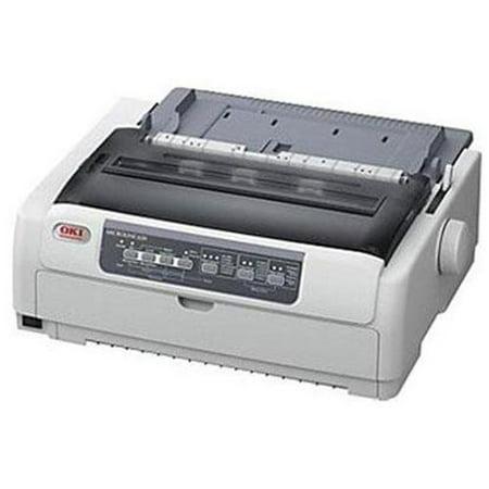 Oki Microline 620 Dot Matrix Printer   Monochrome 9 Pin   700 Cps Mono   288 X 72 Dpi   Usb   Yes  62433801