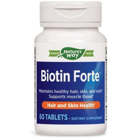 Forte Carbon - 2 Pack - Biotin Forte, 5mg, Tablets, 60 ea