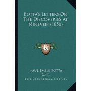 Botta's Letters on the Discoveries at Nineveh (1850)
