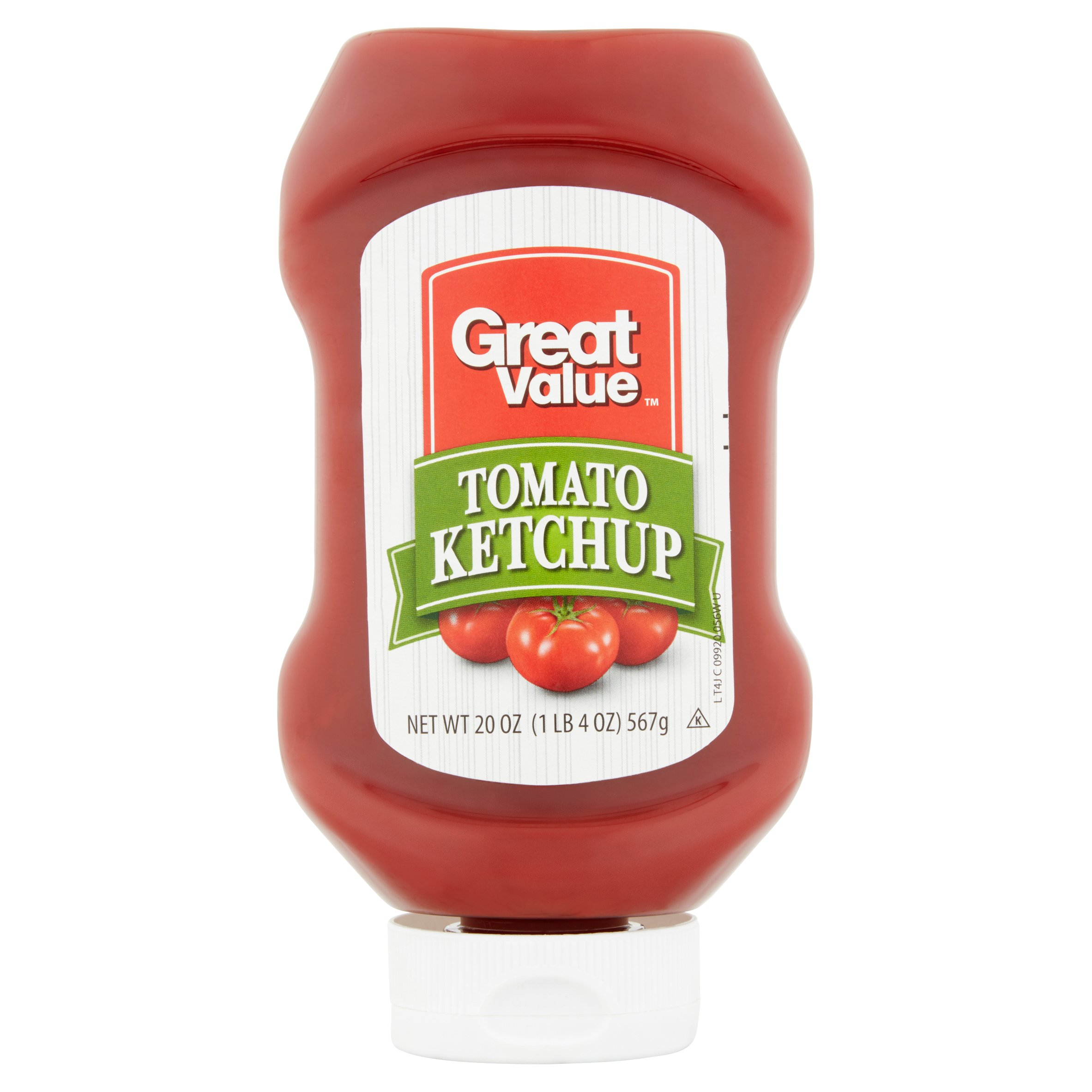Great Value Tomato Ketchup, 20 oz