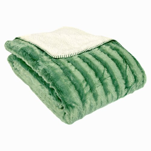 Charlton Home Gilead Oversized Sherpa Back Throw