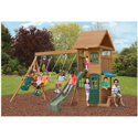 Big Backyard Windale Wooden Cedar Swing Set