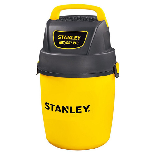 Stanley, SL18127P, 2.0 Peak HP 2 Gallon Hang-Up & Portable Poly Wet Dry Vacuum
