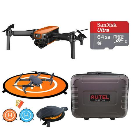 Autel Robotics EVO 4K Quadcopter Drone Bundle with Shoulder Bag and Landing Gear