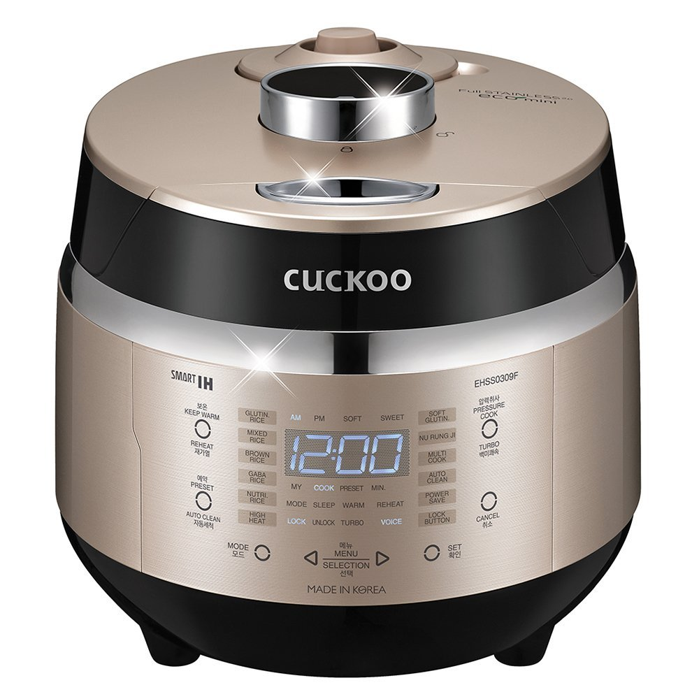 Cuckoo Electric Induction Heating Pressure Rice Cooker CRP-EHSS0309FG