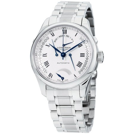 Longines Master Collection Silver Dial Stainless Steel Men's Watch