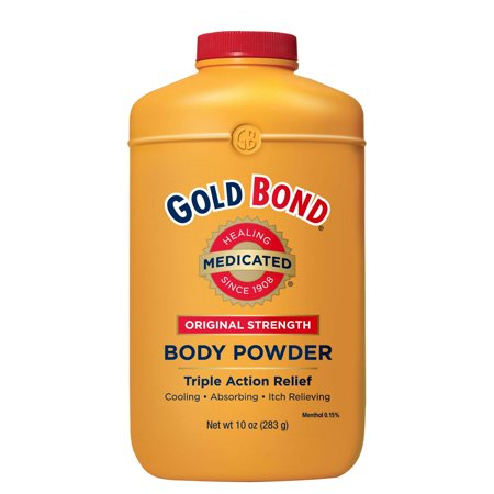 GOLD BOND Original Strength Medicated Body Powder, 10oz