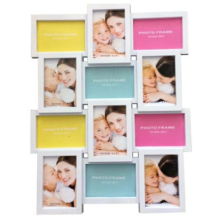 Wall Mounted Multiple Photo Frame Picture Collage For 12