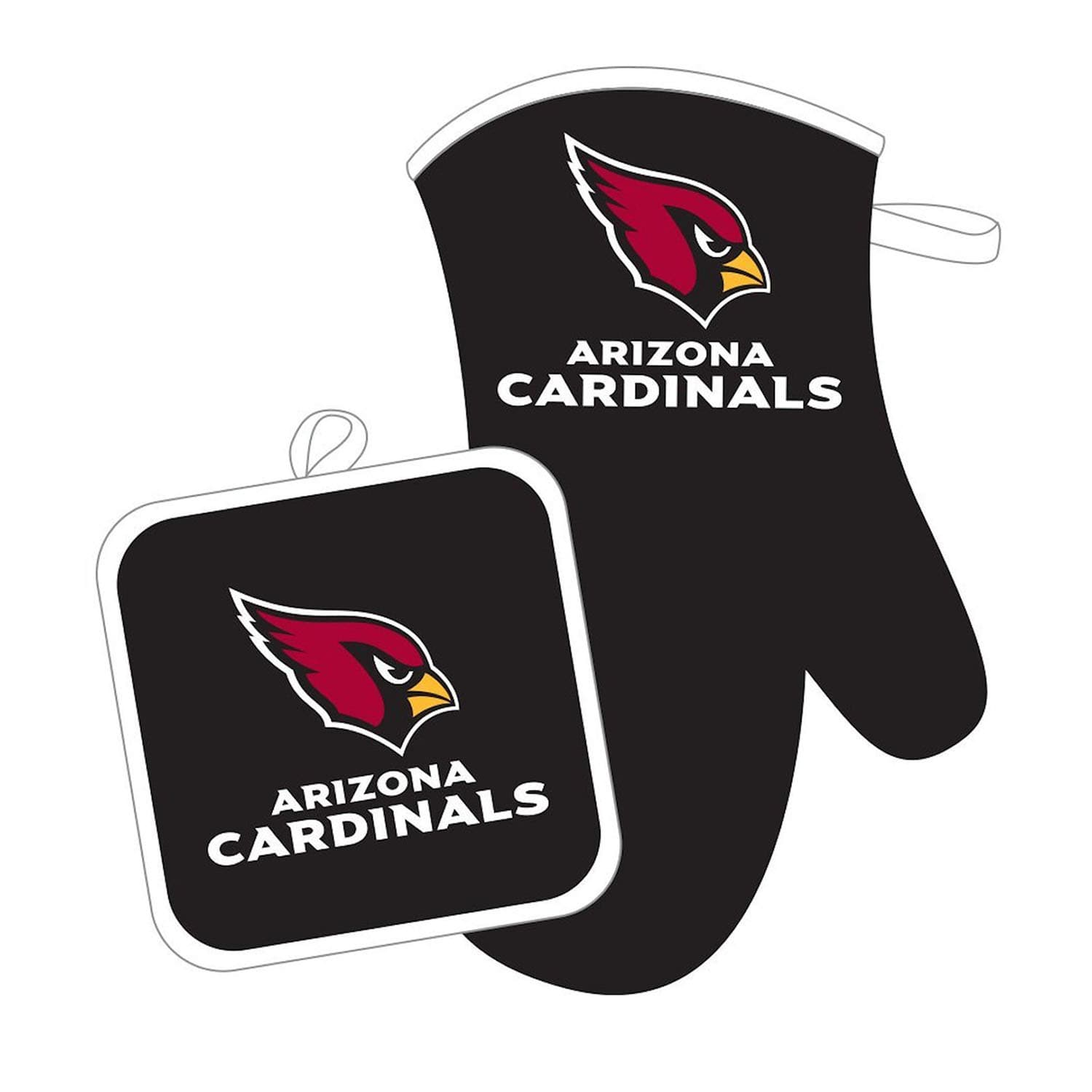 Arizona Cardinals NFL Oven Mitt and Pot Holder Set by Pro Specialties Group