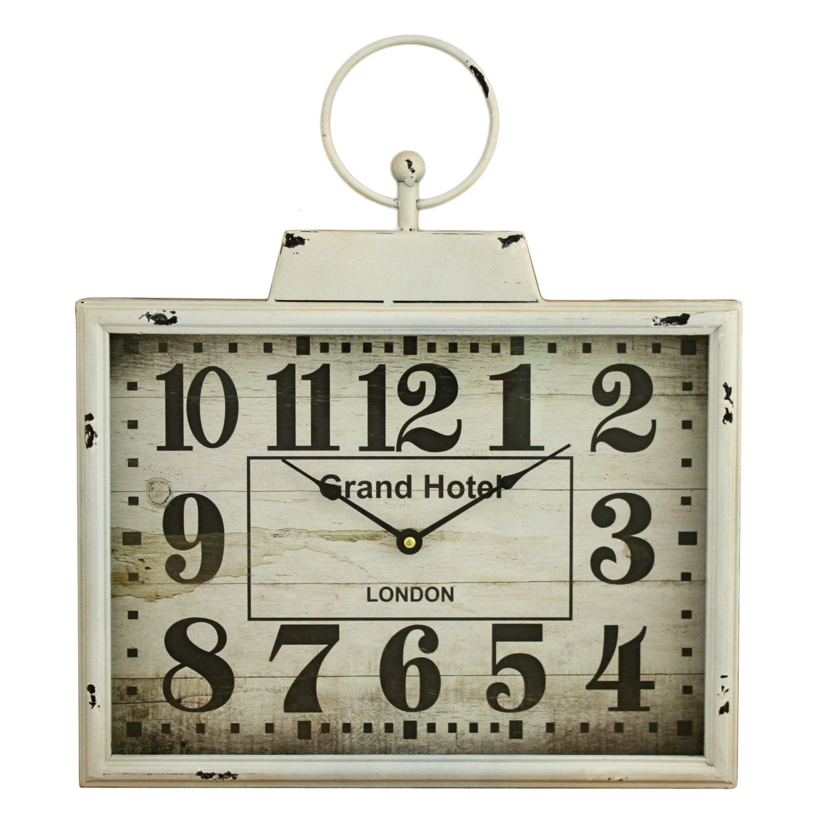 Aspire Home Accents Darcy Rectangular Wall Clock