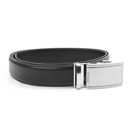 Tour Gear Custom Fit Golf Belt Black with Satin Silver Buckle (Gift Box)