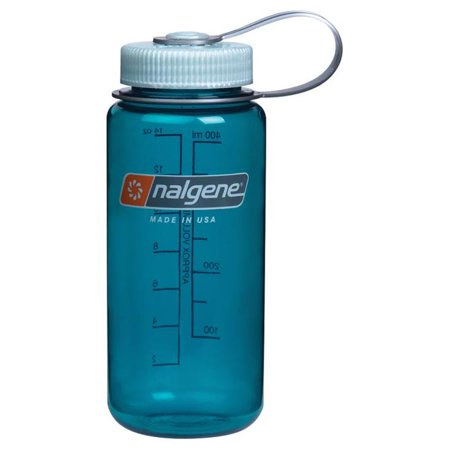 Nalgene Wide Mouth Water Bottle, 1-Pint, Trout Green - Nalgene