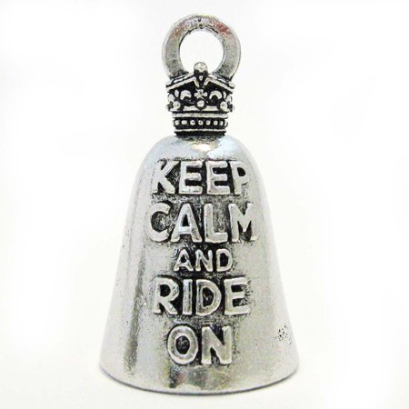 - Guardian Keep Calm and Ride on Motorcycle Biker Luck Riding Bell or Key Ring By Guardian Bell