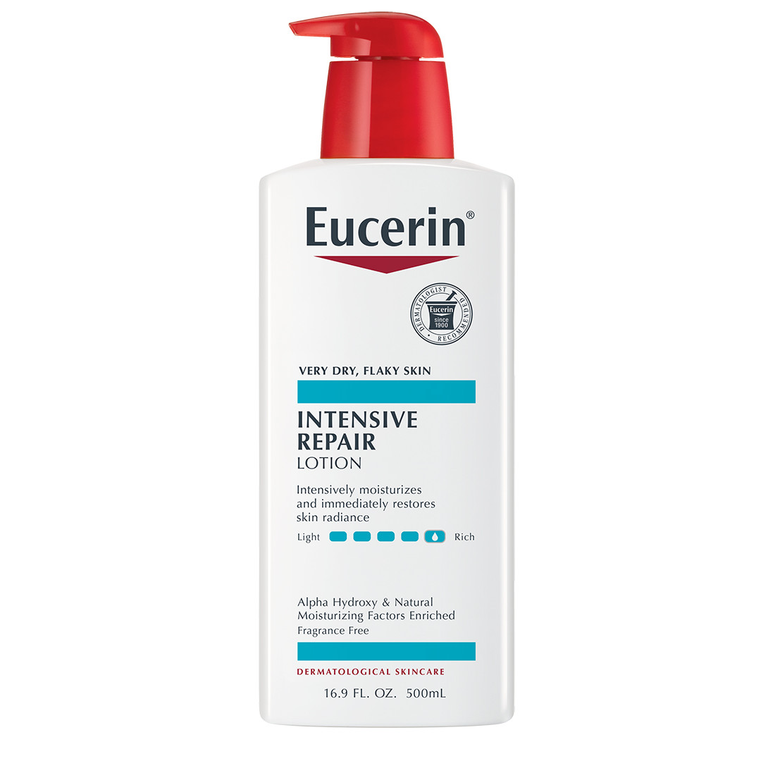 Lotion: Eucerin Intensive Repair Very Dry Skin Lotion 16.9 Fl. Oz