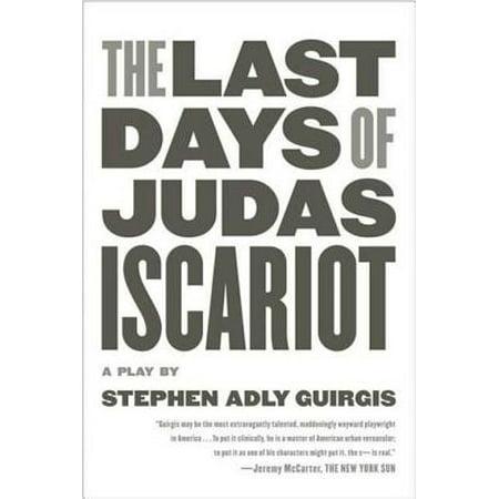 The Last Days of Judas Iscariot - eBook