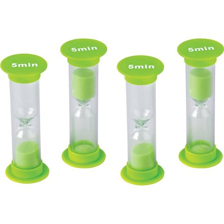 Brass Sand Timer (Teacher Created Resources TCR20947 1 x 2.5 in. 5 Minute Mini Sand Timers)