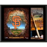 """San Francisco Giants Fanatics Authentic 12"""" x 15"""" Sublimated Team Logo Plaque - No Size"""