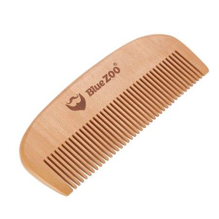 Portable Mens Beard Wooden Comb Kit Mustache Hair Care Brush Shape Tools Beard Comb Beard Shape Comb