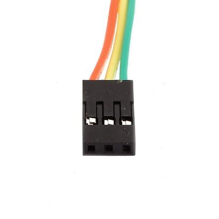 5 Pcs Female to Female 3P Jumper Wires Ribbon Cables Pi Pic Breadboard DIY 30cm - image 1 de 2