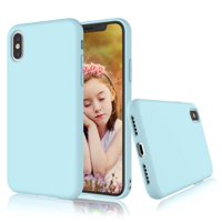Teckoo Case for Apple iPhone X / iPhone XR / iPhone XS / iPhone XS Max / iPhone 10, Tekcoo Shockproof Case Ultra Thin Matte Charming Colorful Slim Soft TPU Bumper Case Cover